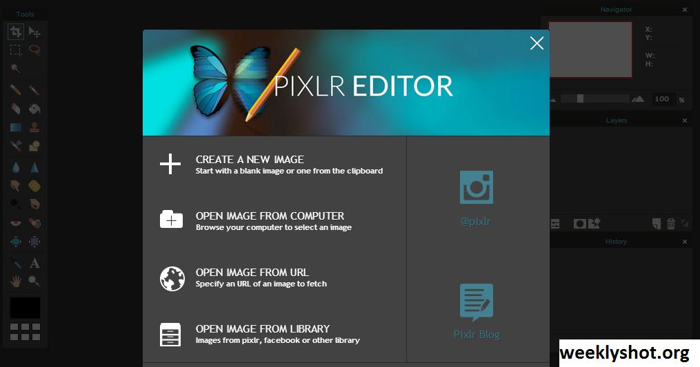 Mengenal Pixlr, Platform Editor Foto Secara Online