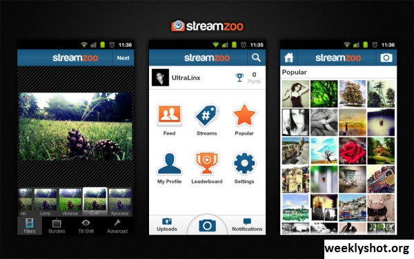 Streamzoo, Platform Atau Situs Berbagi Foto Secara Online