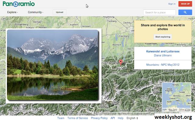 Panoramio, Situs Berbagi Foto Dari Google