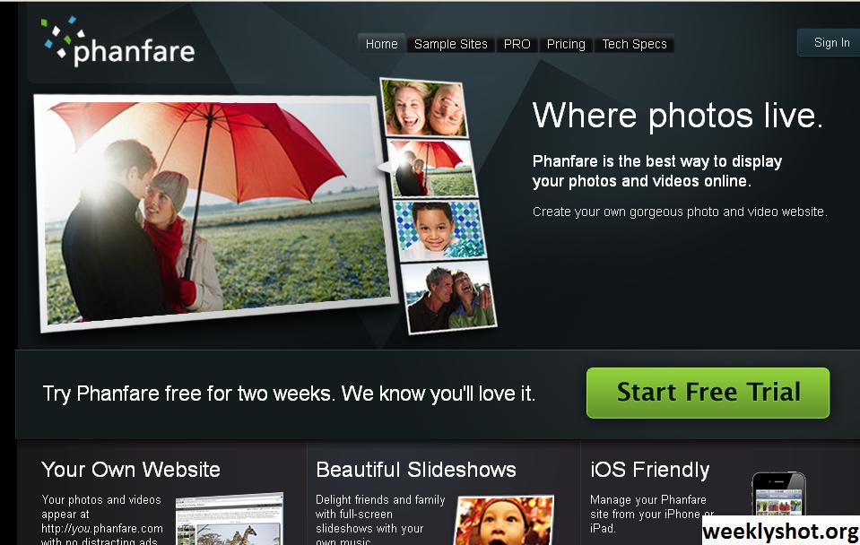 Phanfare, Platform Untuk Berbagi Foto Serta Video